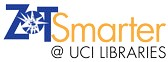 ZotSmarter @ UCI Libraries logo image