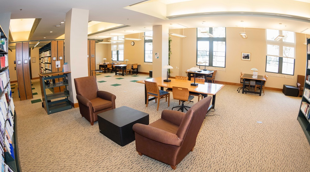 1st floor study area