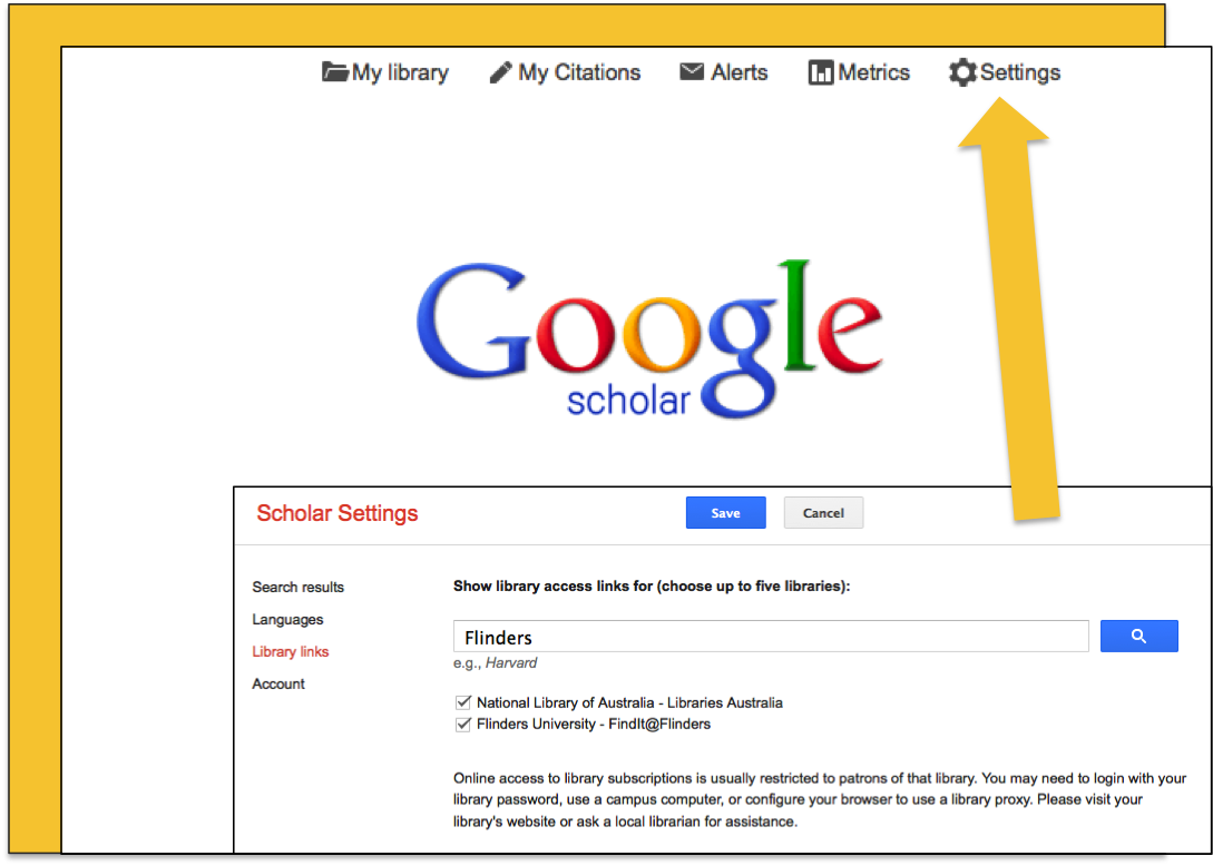 Alternatively, Use The Google Scholar Link In The Databases Az List To  Ensure You Can Link Back To Subscribed Resources