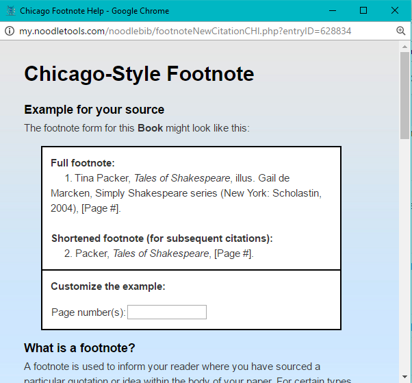 how to write endnotes in chicago style