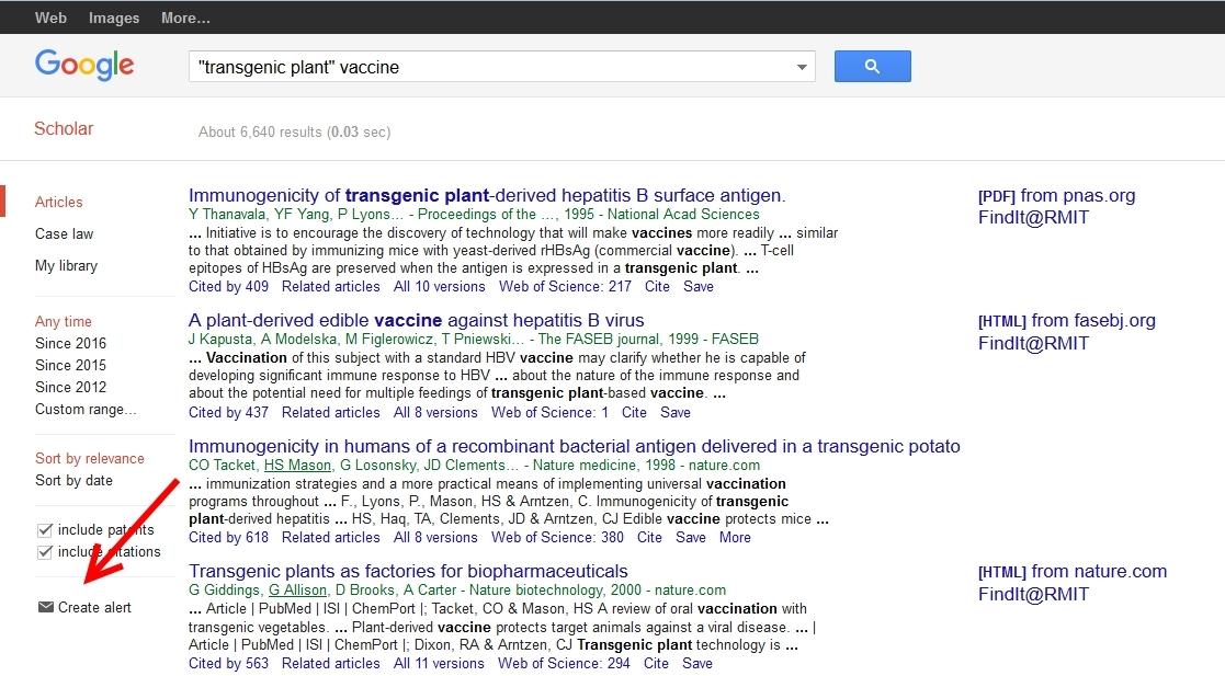 Google scholar HELP??
