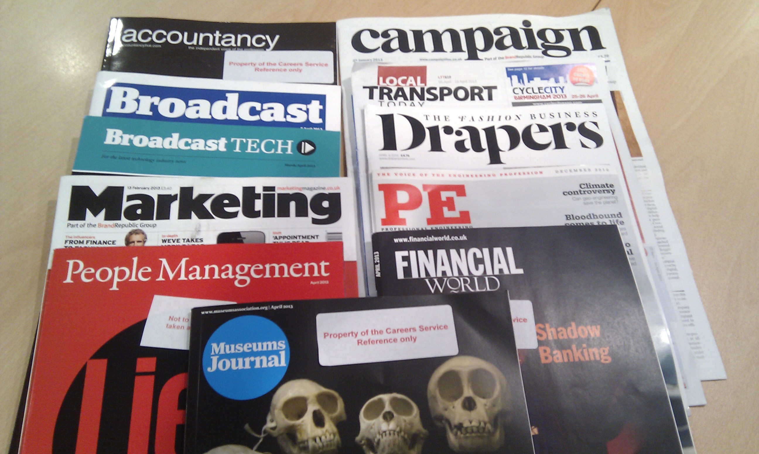 Types Of Magazines With Examples