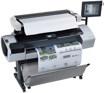 Large Format Color Plotter