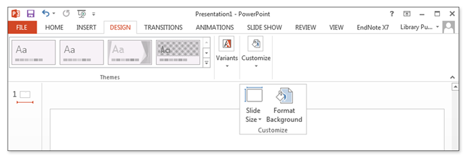 powerpoint dimensions