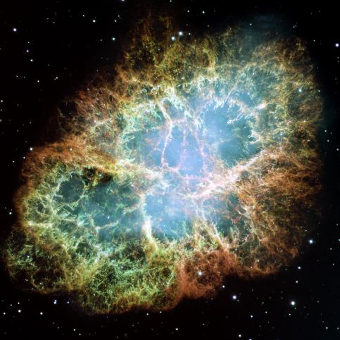 PIA03606: Most Detailed Image of the Crab Nebula
