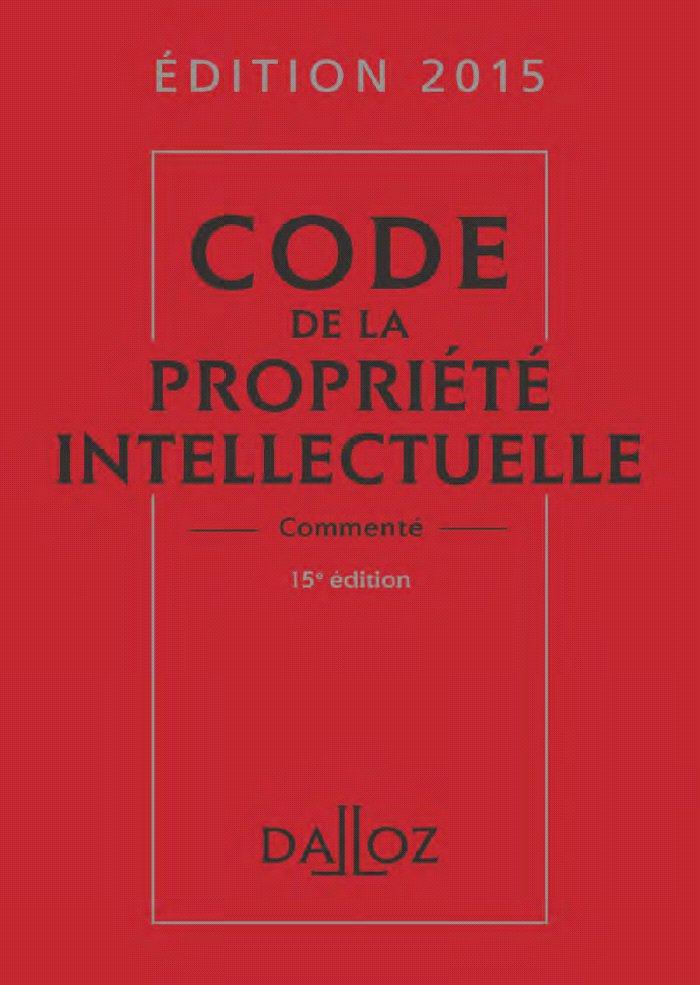Loi propriété intellectuelle