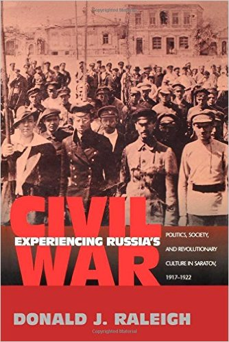 Cover of Experiencing Russia's Civil War