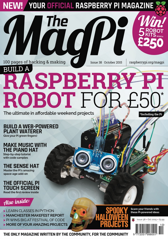 Build a Raspberry Pi robot