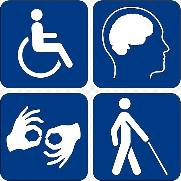 Universal Disability Access Symbols