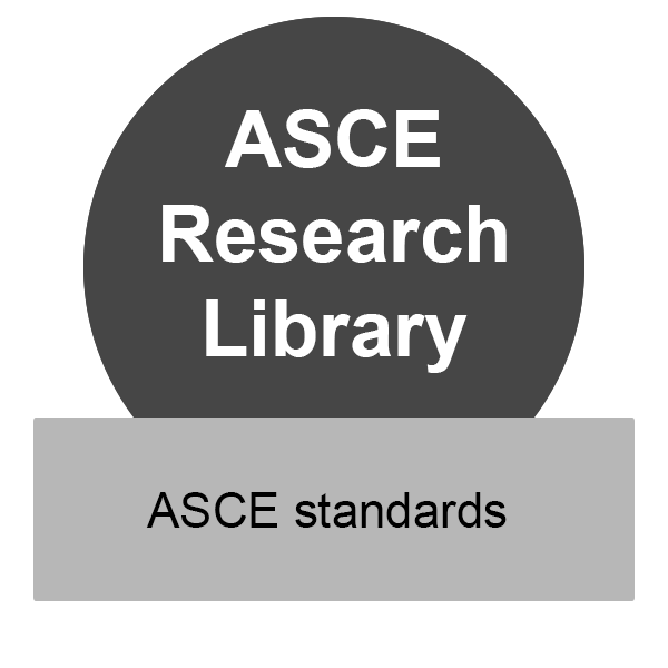 ASCE Research Library has ASCE standards, click to access the database.