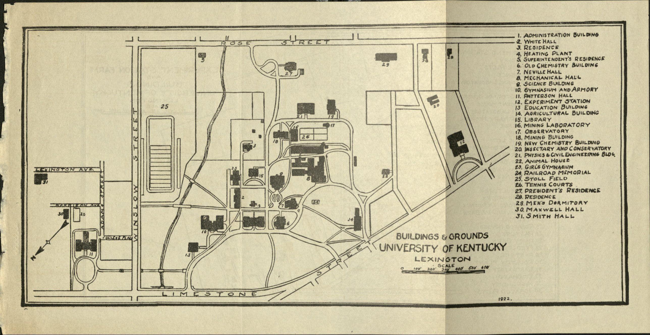 University Of Kentucky Campus Ann Rice O Hanlon The Memorial