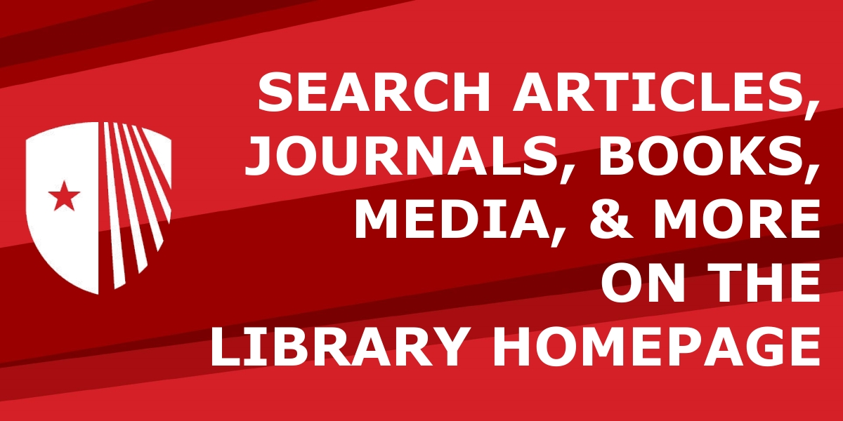 Search articles, journals, books, media, and more