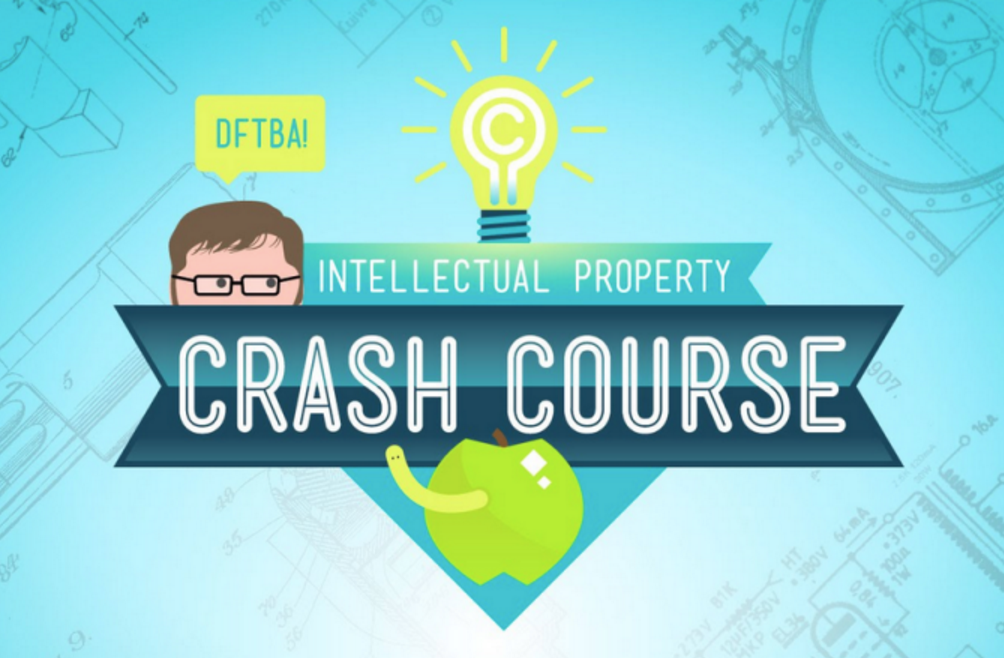 Chrash Course: Intellectual Property Cover Art