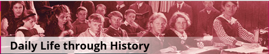 Daily Life through History logo