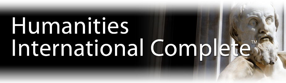 logo for Humanities International Complete Database