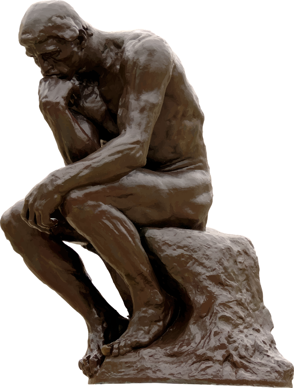 Image of The Thinker sculpture
