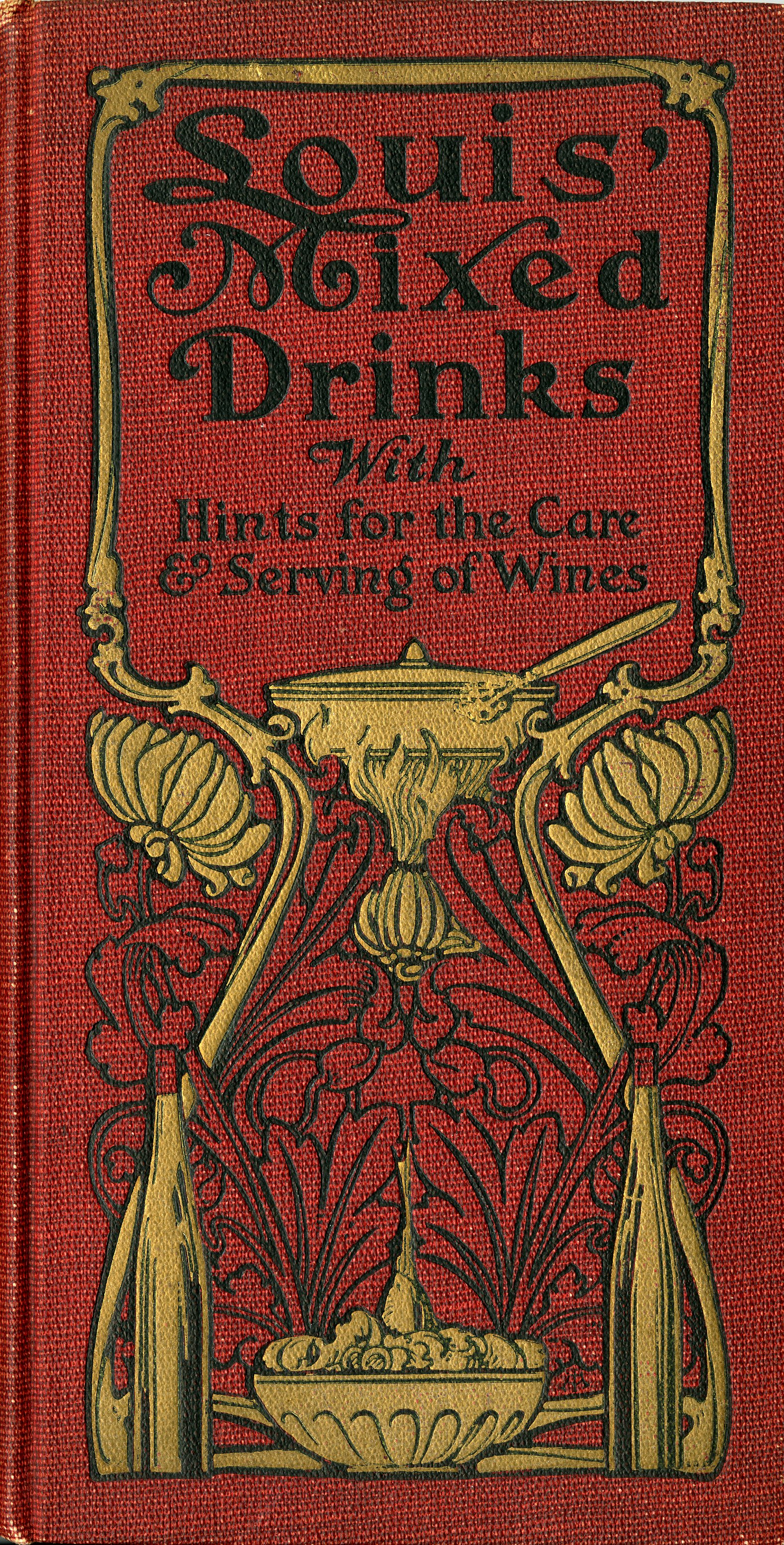 Louis' Mixed Drinks, 1901, front cover