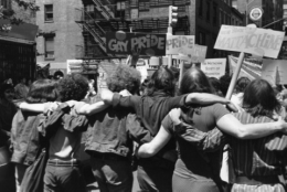 Stonewall anniversary march, 1970