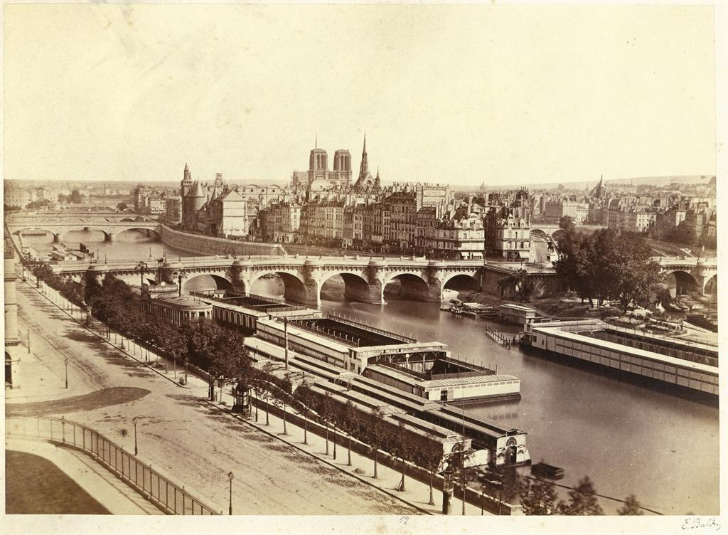 Paris panorama, 1860