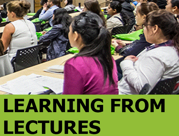 Image link to Learning from lectures guide