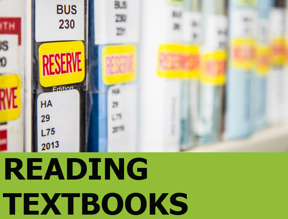 Image link to Reading Textbooks Guide