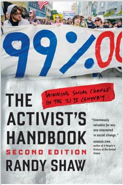 The Activist's Handbook book cover