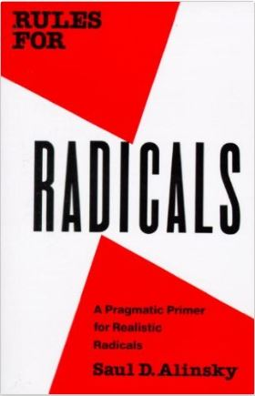 Rules for Radicals by Saul D. Alinsky book cover
