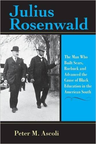 Book cover art for Julius Rosenwald