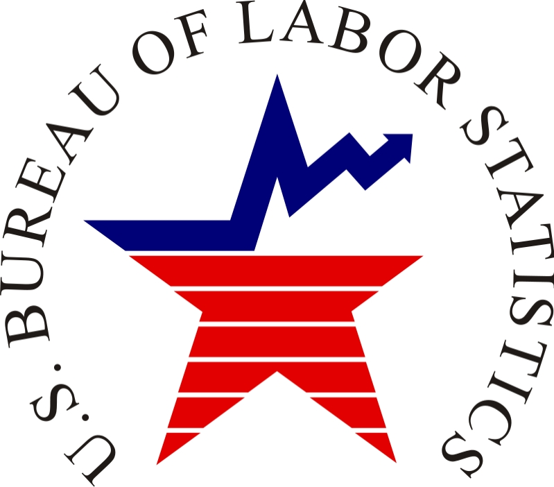 Image logo for U.S. Bureau of Labor Statistics