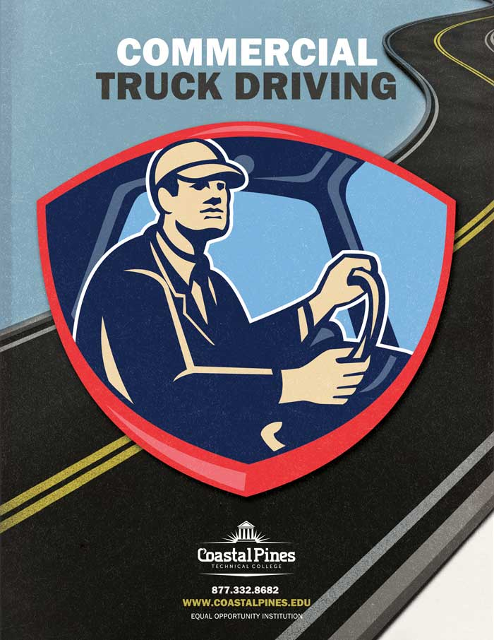 Image promotional poster for CPTC truck driving school