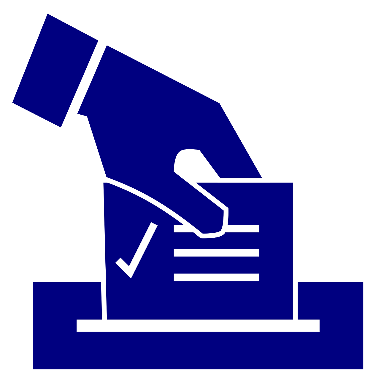 Illustration of a ballot box