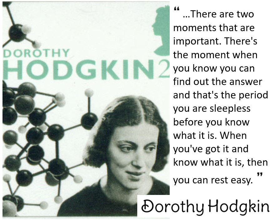 picture of Dorothy Hodgkin