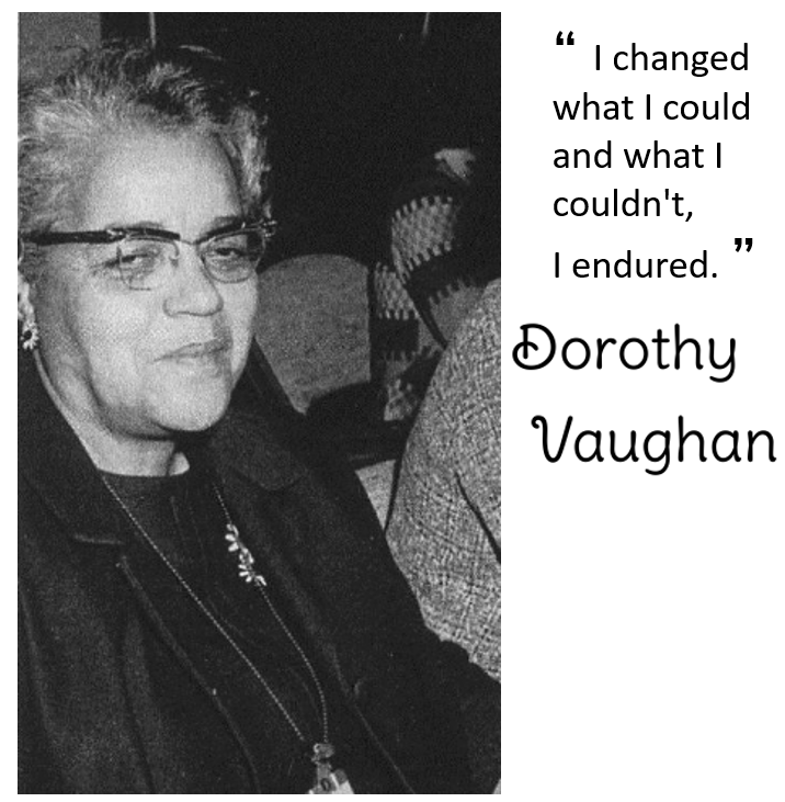 Dorothy Vaughn picture and quote