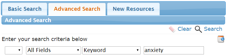 ETS Advanced Search