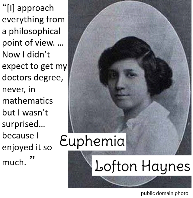 Euphemia Lofton Haynes picture quote