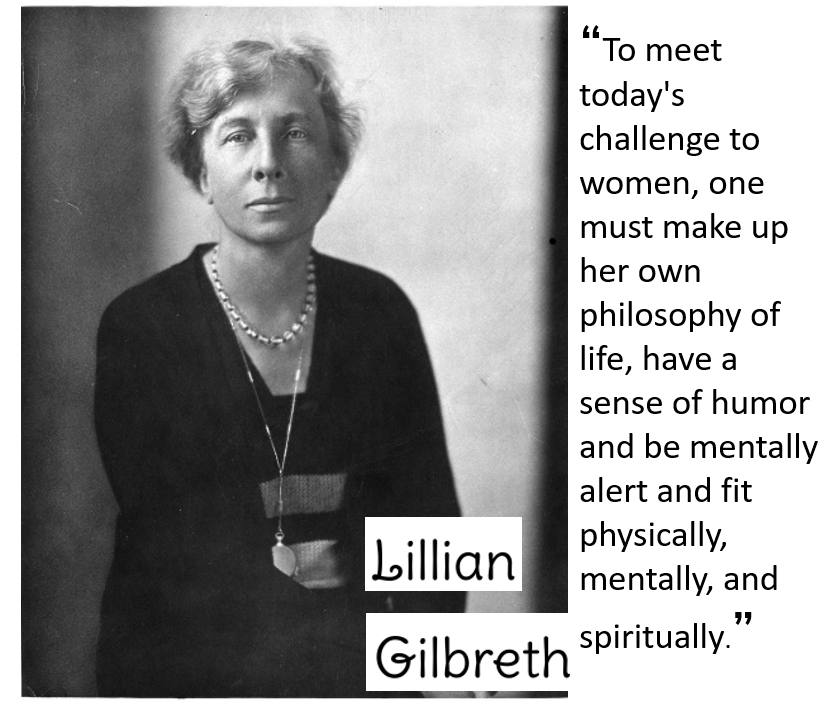 photo of Lillian Gilbreth