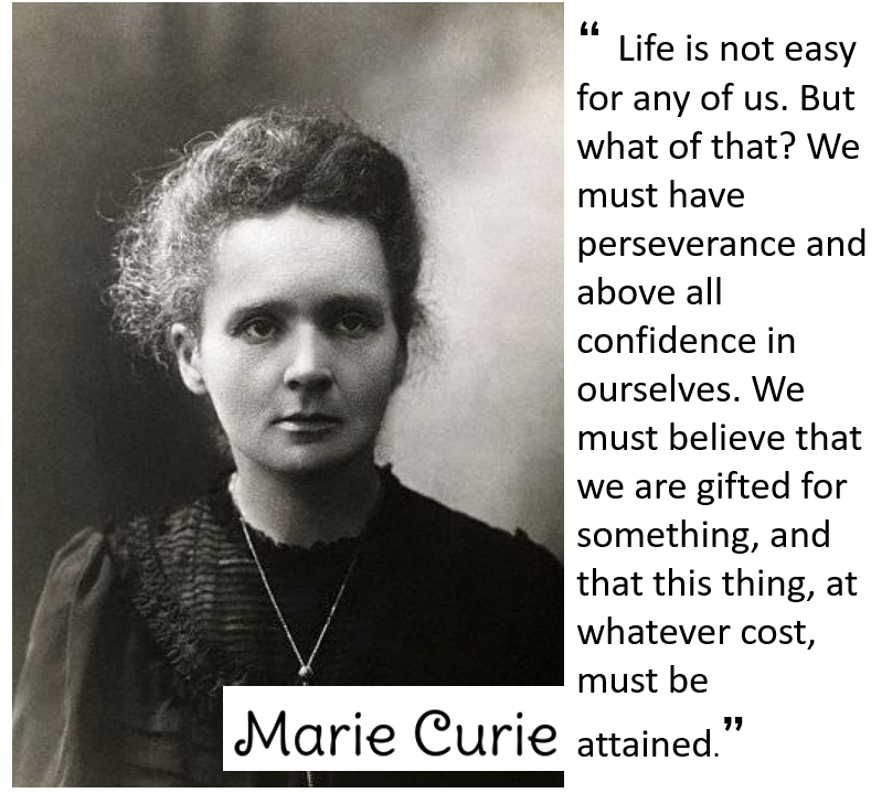 picture of Marie Curie