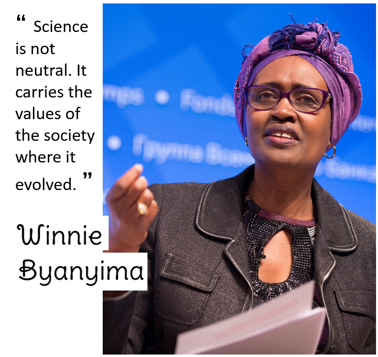 photo of Winnie Byanyima
