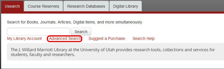 Proquest dissertations search guidelines