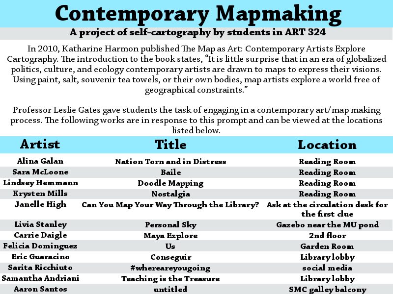 Contemporary Mapmaking Art Display Guide