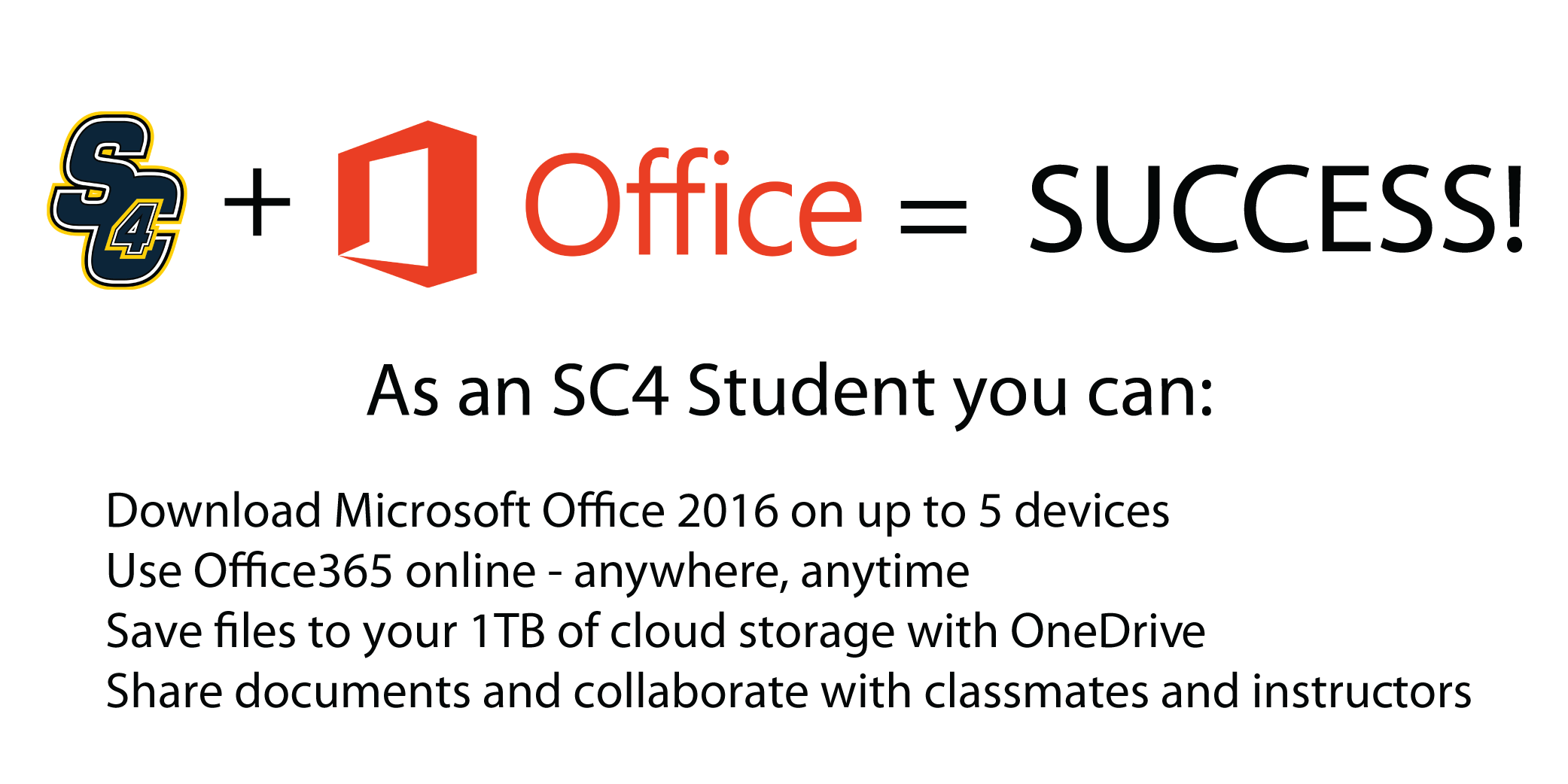 Microsoft Office at SC4