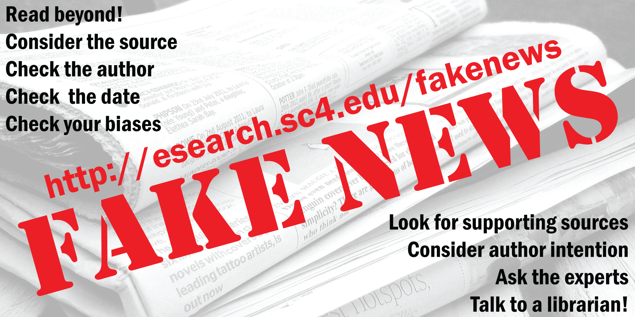 fake news research guide
