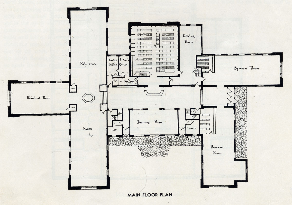 Zimmerman library john gaw meem research guides at for Zimmerman house floor plan