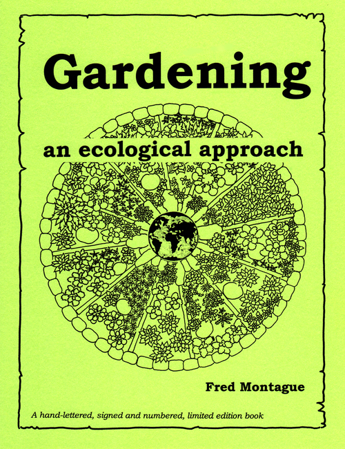 Book Cover, Fred Montague, Gardening: an Ecological Approach