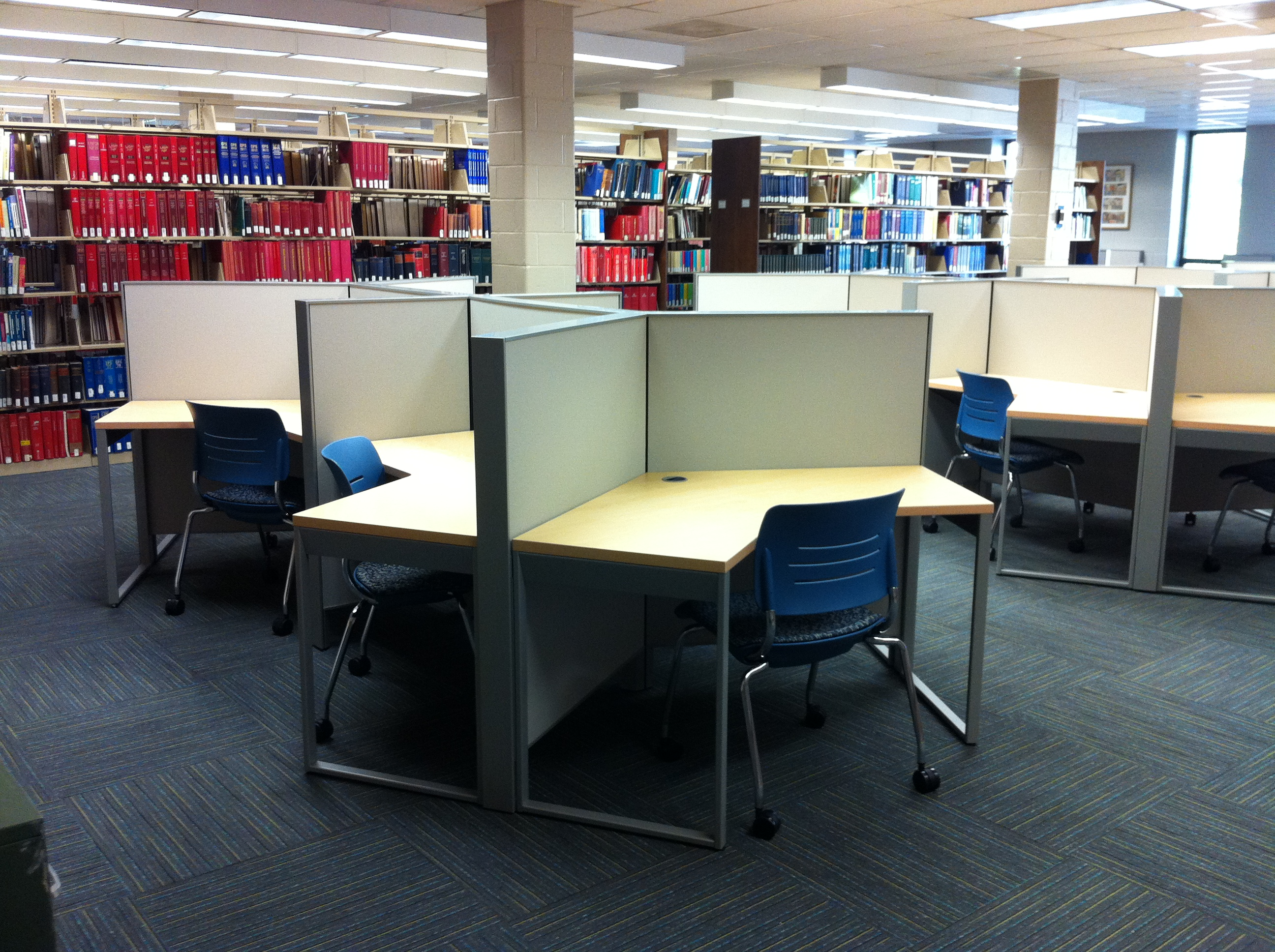 Carrels for Quiet Study