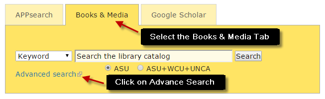 Searching for eBooks in the Library Catalog