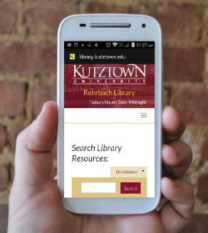 Kutztown Mobile Website