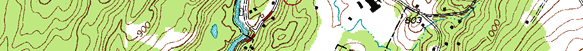 Example of topographic map.