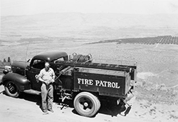 Wasco County fire truck