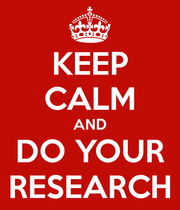 Your research project